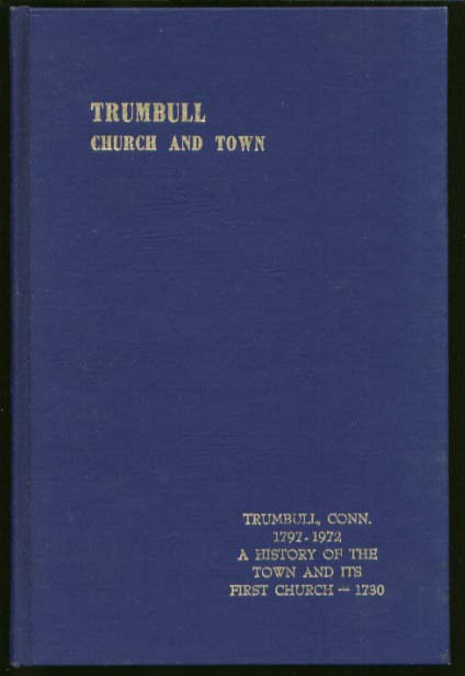 Beach: Trumbull: Church & Town Church of Christ 1972 CT