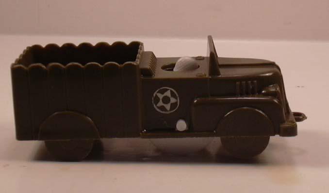 Plasticraft animated US Army Half-track plastic 1950s