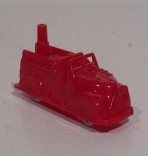 Renwal #145 Firetruck Pumper plastic truck 1950s