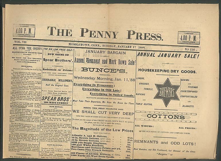 The Penny Press: becoming popular in the 1830s, it provided candidates a fast cheap way to mass produce newspapers