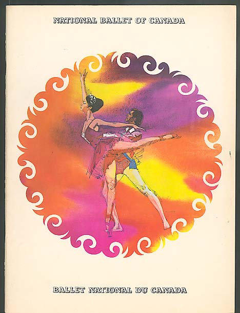 Ballet National Du Canada souvenir program ca 1964