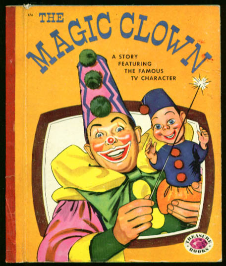 The Magic Clown TV tie-in Treasure Book 1954