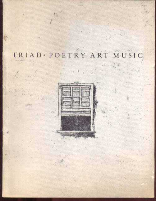 TRIAD: Poetry Art Music magazine New Haven CT 1959