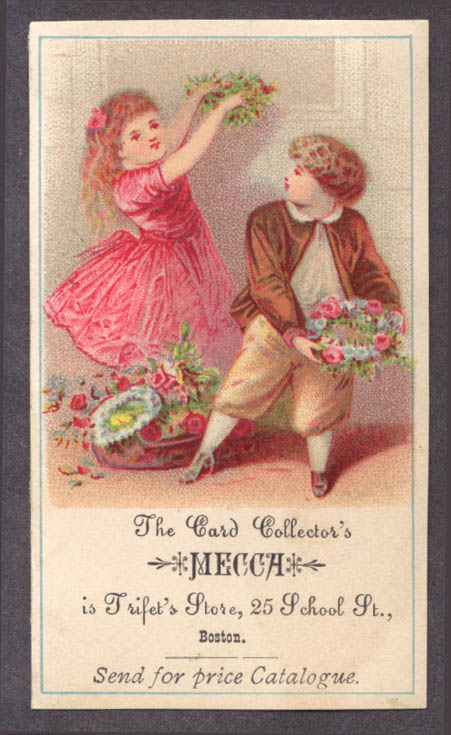 Image for Triplet's Card Collector's Mecca Boston trade card