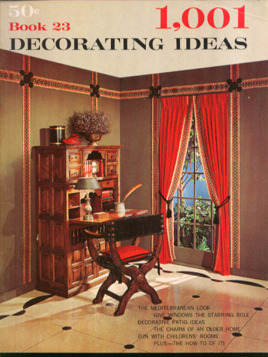 1001 Decorating Ideas Book 23 1966