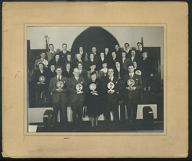 Northern Baptist World Mission Crusade New Haven CT photo 1947