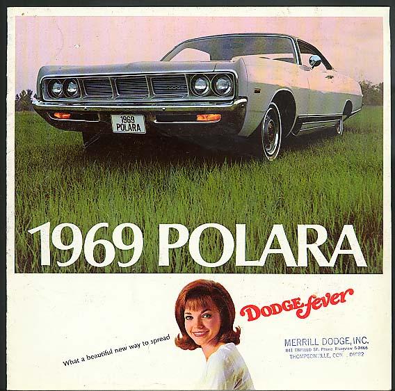 1969 Dodge Polara Coupe Sedan & Station Wagon sales brochure