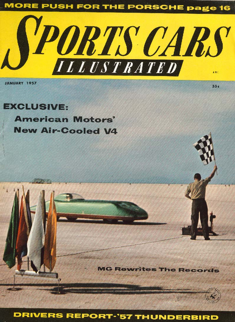 SPORTS CARS ILLUSTRATED MG A DKW 3-6 Ford T-Bird 1 1957 | eBay