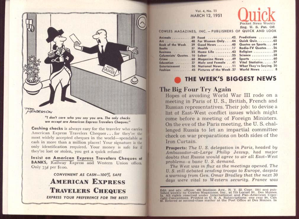 QUICK Marguerite Piazza saves opera 3/12 1951