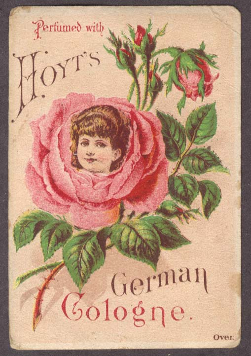 Image for Hoyt's German Cologne Colson Alaska MI trade card