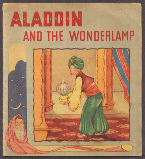 Aladdin & the Wonderful Lamp Truus Vinger book