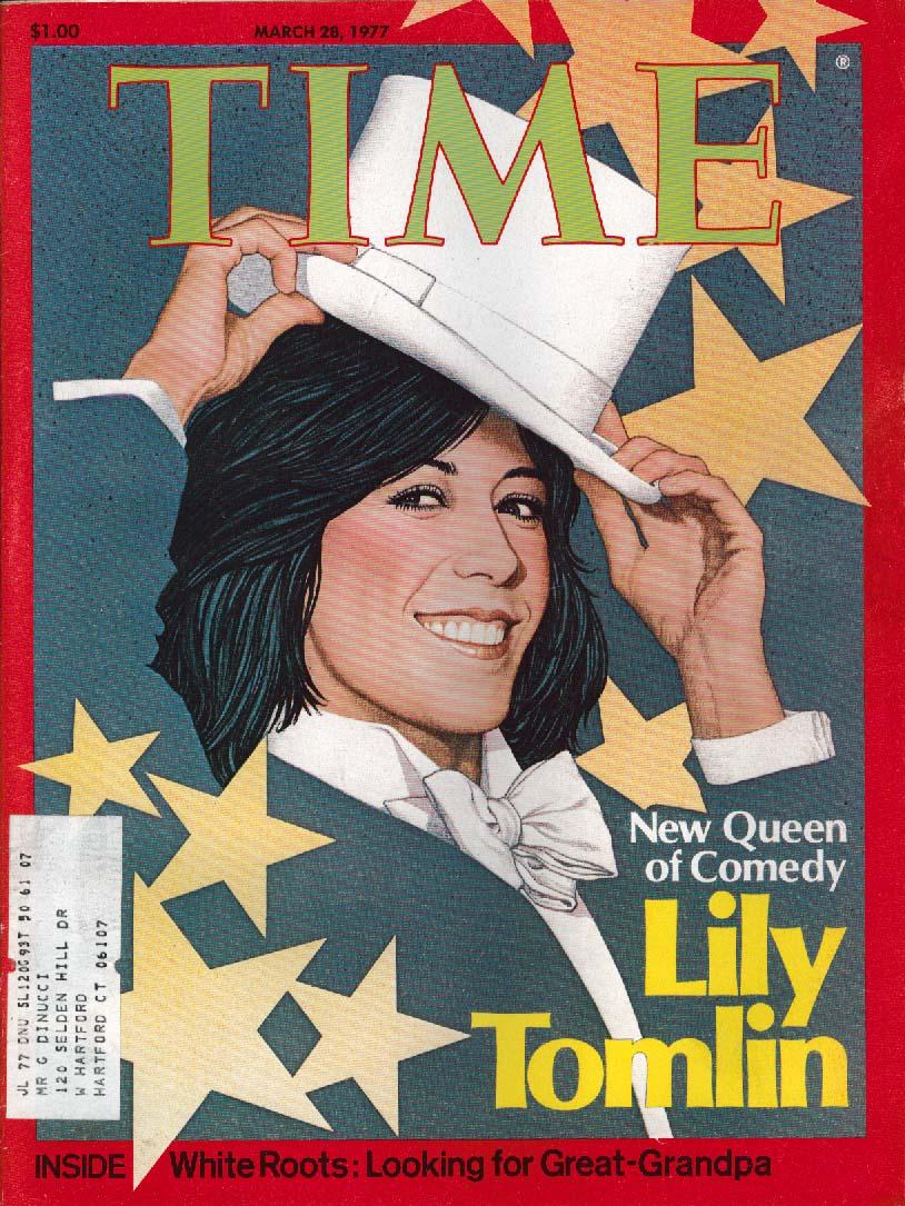 TIME Lily Tomlin, Roman Polanski 3/28 1977