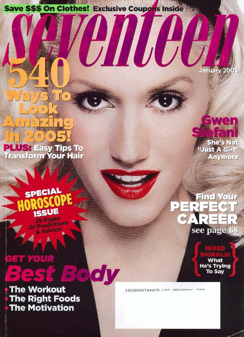 SEVENTEEN Gwen Stefani 1 2005