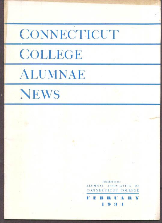 Connecticut College Alumnae News 2 1934