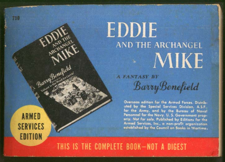 ASE 710 Benefield: Eddie & Archangel Mike 1943