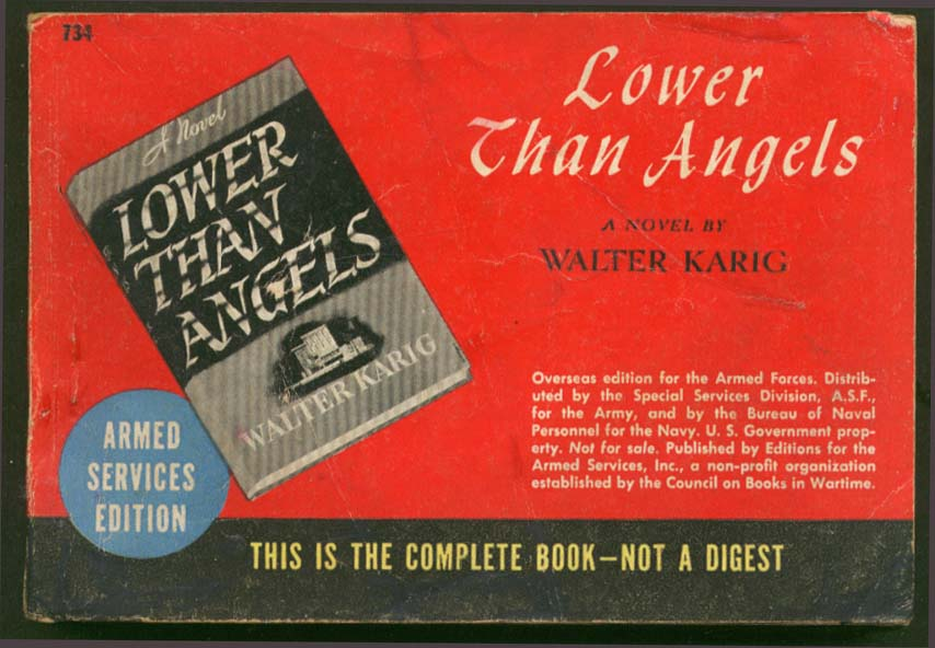 ASE 734 Walter Karig: Lower Than Angels