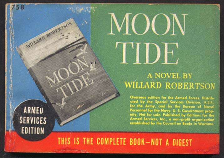 ASE 758 Willard Robertson: Moon Tide