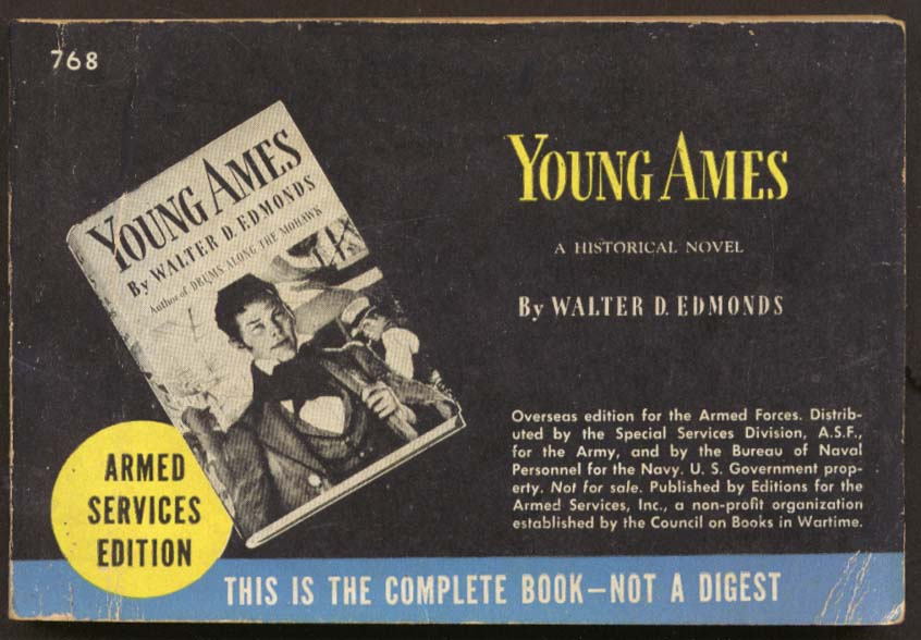 ASE 768 Walter D Edmonds: Young Ames