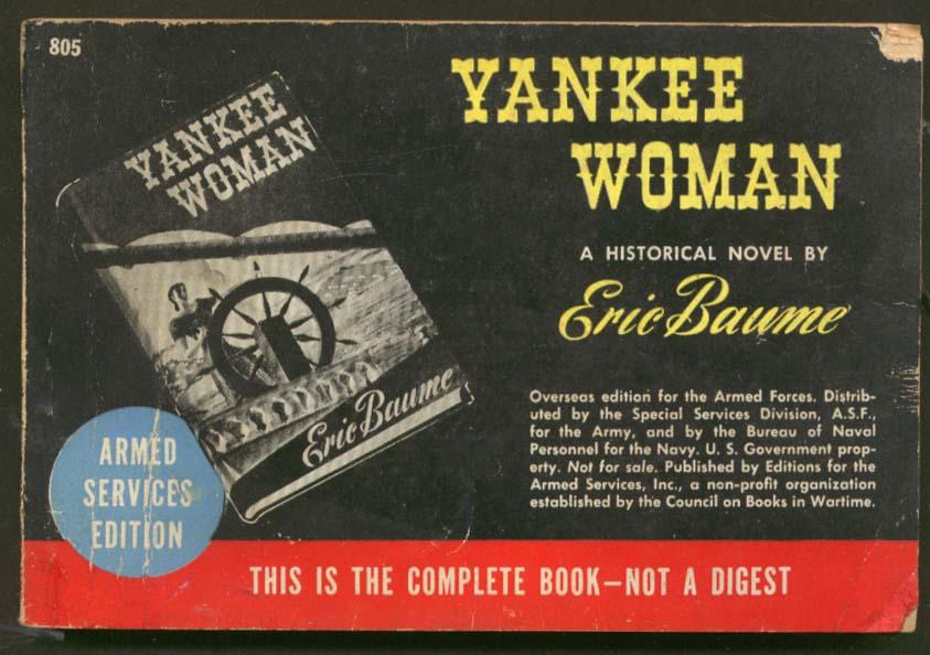 ASE 805 Eric Baume: Yankee Woman 1945