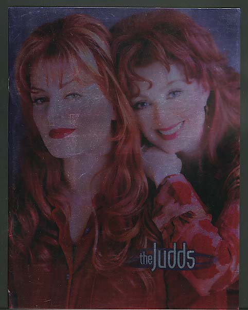The Judds Concert Tour Program 1985 w/ letter 1985
