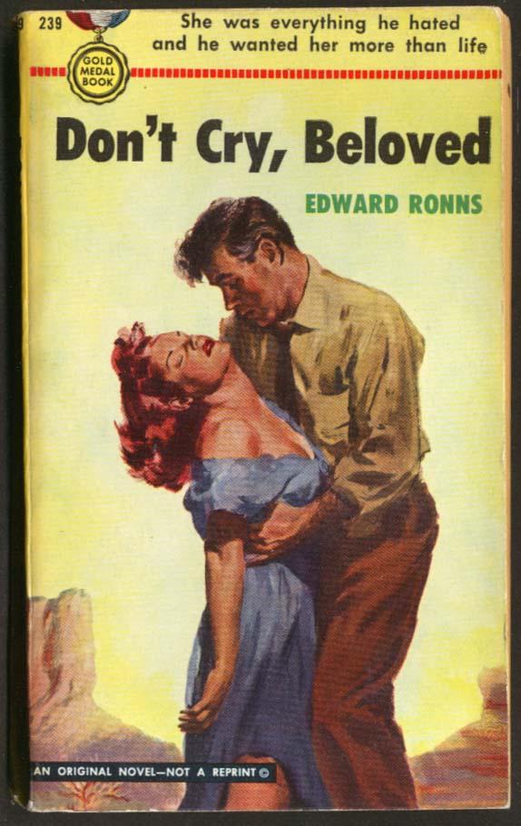 Edward Ronns: Don't Cry, Beloved GGA pbo bosom clinch