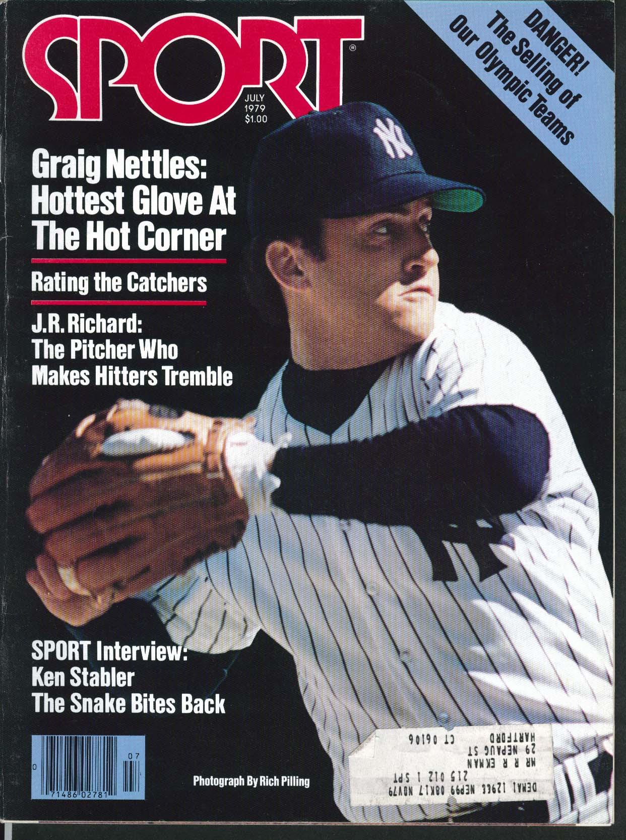 SPORT Graig Nettles J R Richard Ken Stabler 7 1979