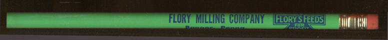 Flory Milling Flory's Feeds Bangor PA ad pencil