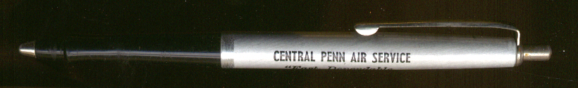 Central Penn Air Service advertising ballpoint pen