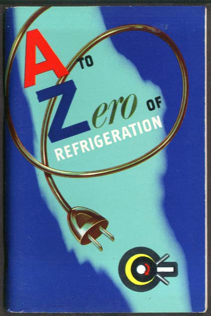 General Motors A to Zero of Refrigeration booklet 1954