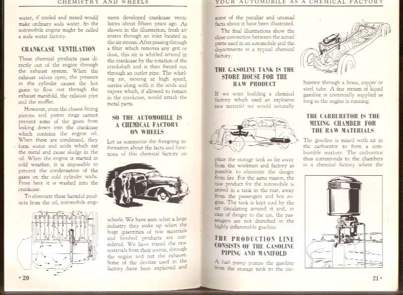 General Motors Chemistry & Wheels booklet 1938