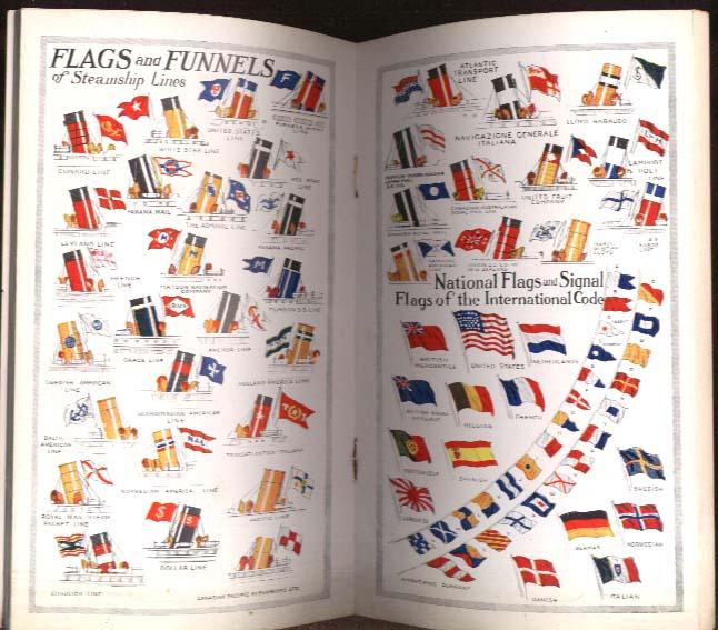 Ocean Records Pocket Handbook for Travelers 1927