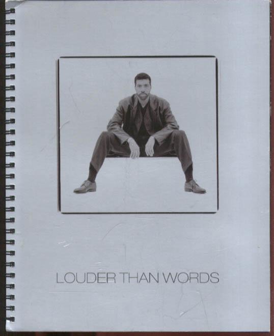 Lionel Richie Louder Than Words Lyric Book w/ CD 1996