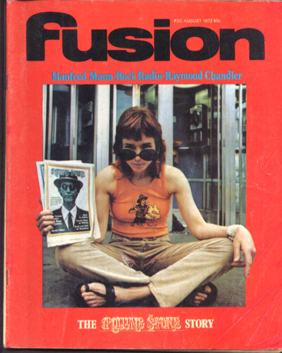 FUSION Manfred Mann Rolling Stone Raymond Chandler 8 1972