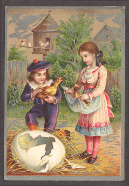 Image for Centennial American Tea New Haven CT trade card egg