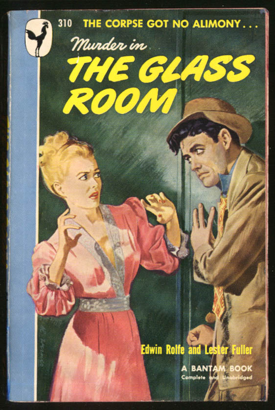 Image for Rolfe & Fuller: Murder in the Glass Room GGA pb blonde bosoms in fear nightgown