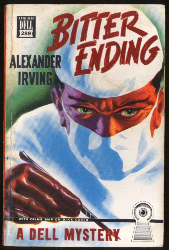 Alexander Irving: Bitter Ending Dell Mapback noir pb menacing surgeon