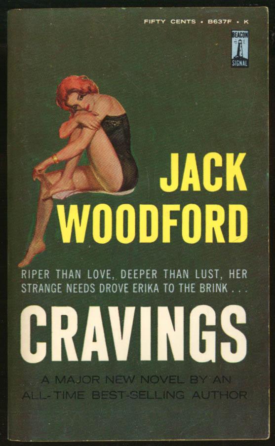 Image for Jack Woodford: Cravings GGA pb redhead black merry widow gams