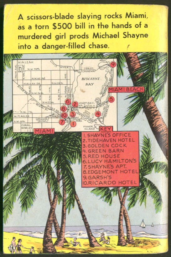 Image for Brett Halliday: This is It, Michael Shayne Dell Mapback GGA noir pb dead blonde