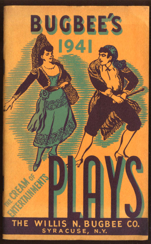 Image for Willis N Bugbee's Plays Catalog 1941 Syracuse NY