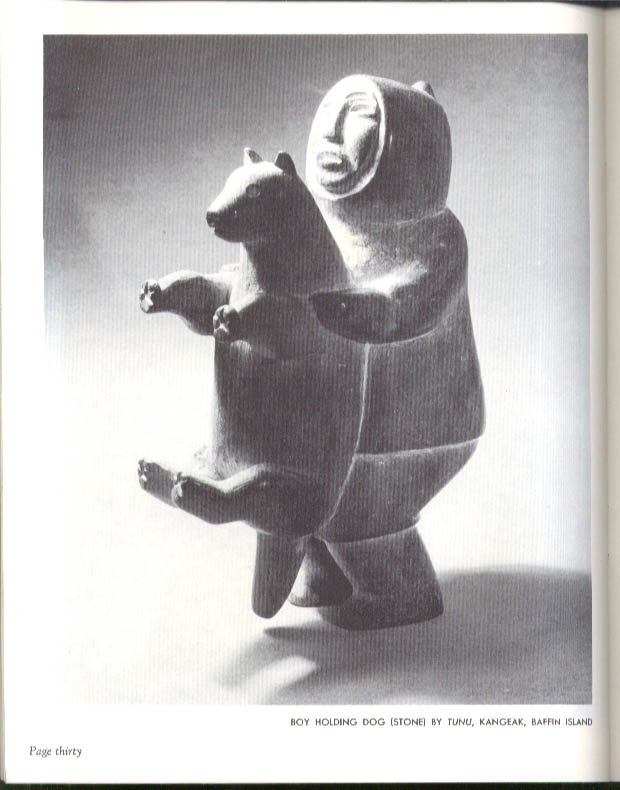 Image for Canadian Eskimo Art monograph Northern Affairs & Natural Resources 1963