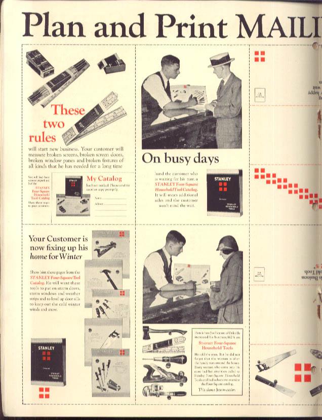 Image for S D Warren Paper More Business thru Mailing Cards brochure ca 1930