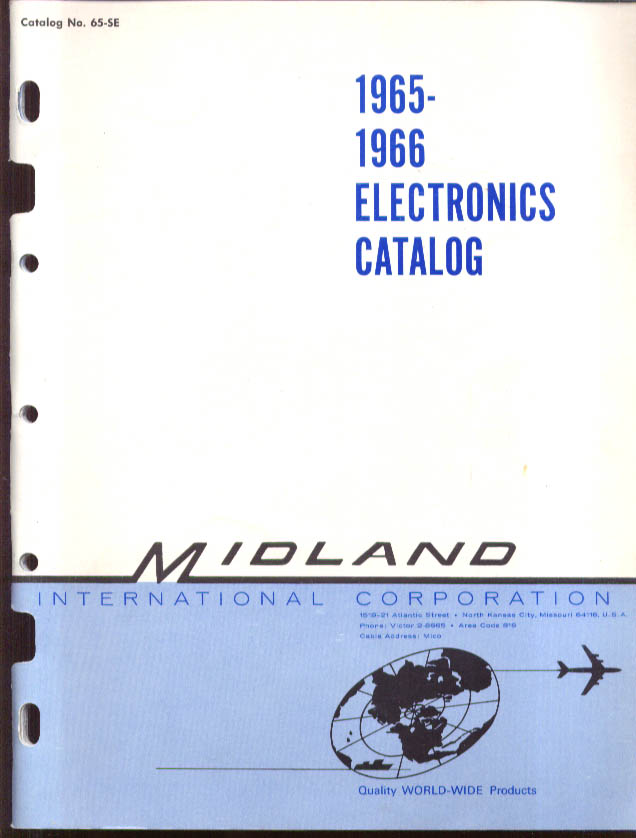 Image for Midland Electronics Catalog 1965-6 with 1965 Price List