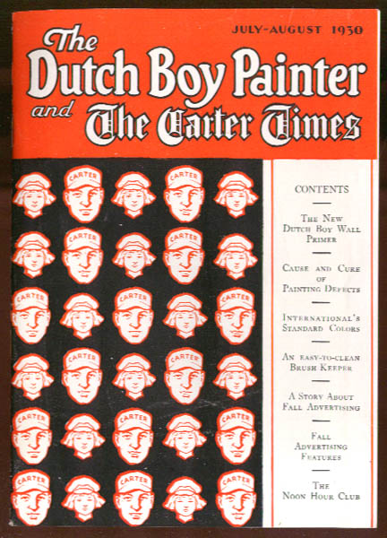 Dutch Boy Painter & Carter Times 7-8 1930 issue