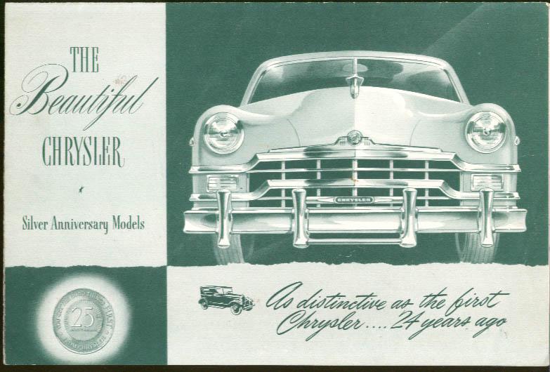 Image for 1949 Chrysler Silver Anniversary sales folder #CS-248