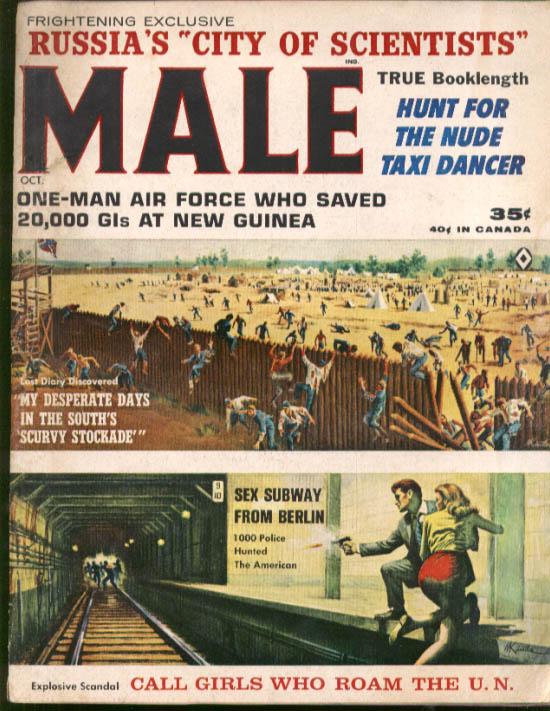Image for Berlin Sex Subway Confederate Stockade Nude Taxi Dancer New Guinea MALE 10 1963