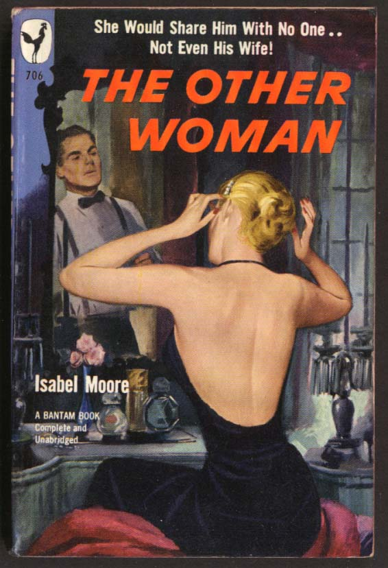 Isabel Moore: The Other Woman GGA pb blonde backless dress