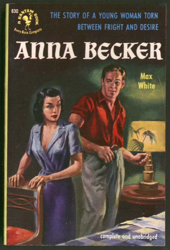 Max White: Anna Becker GGA pb cleavage man woman to bed leering