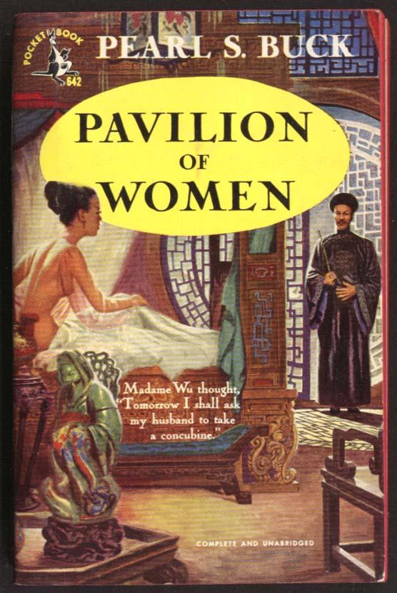 Pearl S Buck: Pavilion of Women GGA pb Madame Wu nude in bed