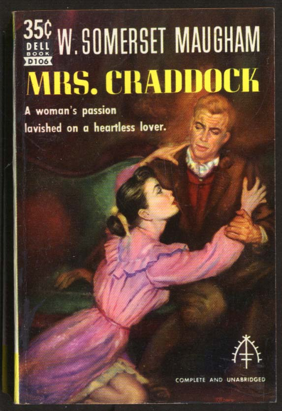 Image for W Somerset Maugham: Mrs Craddock GGA pb clinging woman in pink