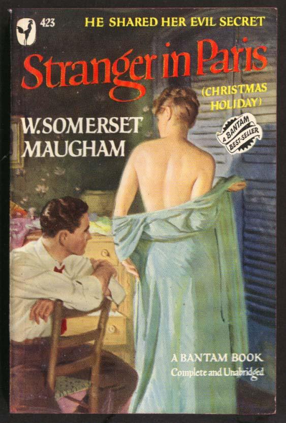 W Somerset Maugham: Stranger in Paris GGA pb woman disrobes for man